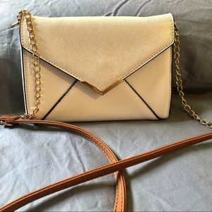Call It Spring Crossbody Bag w/gold chains